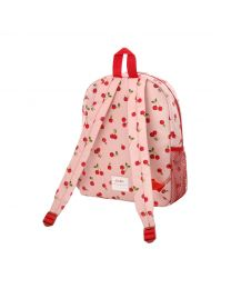 Cherries Kids Large Backpack with Mesh Pocket