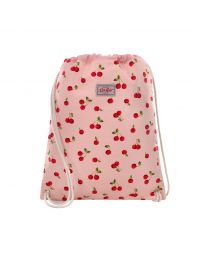 Cherries Kids Drawstring Bag