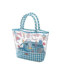 Summer Time Printed PVC Tote