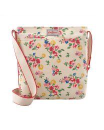Summer Floral Zipped Messenger Bag