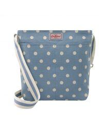 Spot Zipped Messenger Bag