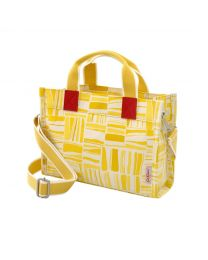 Painted Woodblock The Mini Milly Tote
