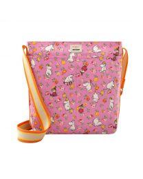 Moomins Linen Sprig Zipped Messenger Bag
