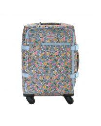 Vale Floral Four Wheel Cabin Bag