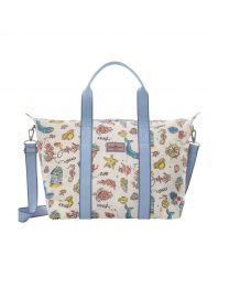 Summer Time Foldaway Overnight Bag