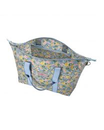 Vale Floral Foldaway Overnight Bag
