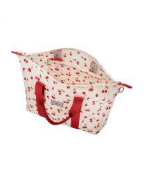 Cherries Foldaway Overnight Bag