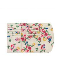 Summer Floral Foldover Wallet