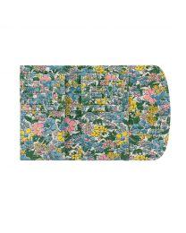 Vale Floral Foldover Wallet