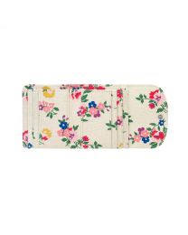 Summer Floral Small Foldover Wallet