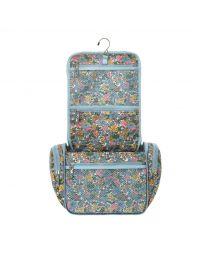 Vale Floral Large Travel Wash Bag