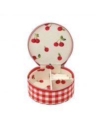 Small Gingham Trinket Box