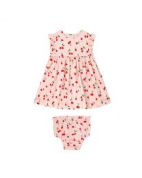 Cherries Baby Ella Dress
