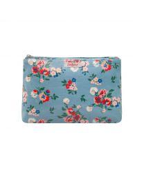 Summer Floral Zip Cosmetic Bag