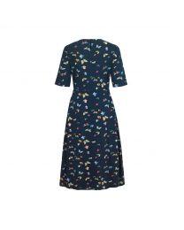 Butterflies Printed Jersey Dress