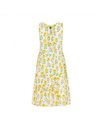 Dahlia Printed Tiered Skirt Dress