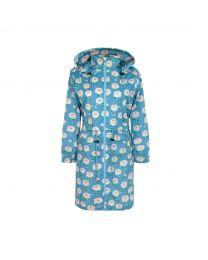 Dahlia Long Raincoat