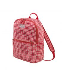 Painted Check Small Foldaway Backpack