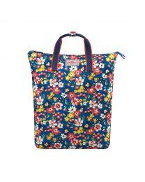 Portland Flowers Zip-Top Backpack