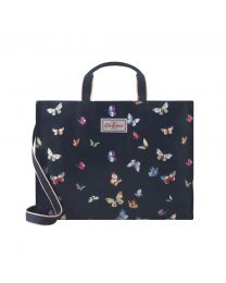 Butterflies Strappy Carryall Tote
