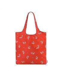 Garden Squirrels Foldaway Shopper