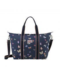 Butterflies Foldaway Overnight Bag