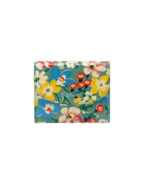 Portland Flowers Small Foldover Wallet