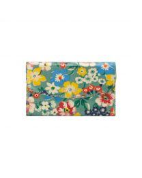 Portland Flowers Foldover Wallet
