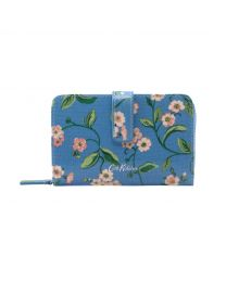 Forget me not Folded Zip Wallet