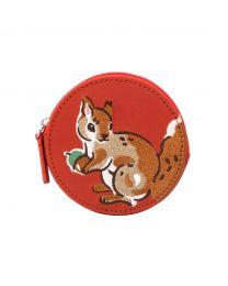 Garden Squirrels Squirrel Round Coin Purse
