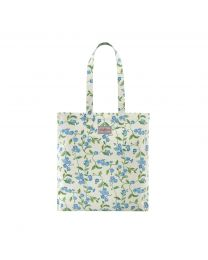 Forget Me Not Cotton Bookbag