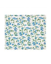 Forget me not Set of 2 Reversible Placemats