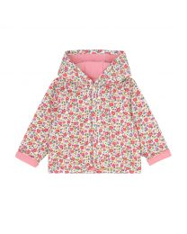 Pembridge Ditsy Baby Hooded Quilted Jacket