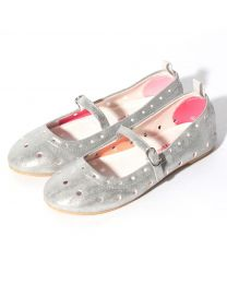 Kids Girls Spotty Dotty Ballet Shoe