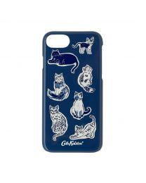 Mini Squiggle Cats iPhone 6/7/8 Case