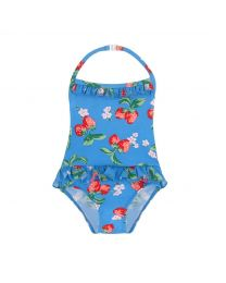 Strawberries Baby Frill Swimsuit