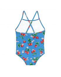 Strawberries Kids Frill Swimsuit
