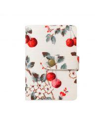 Cherry Sprig Book Style Card Holder