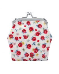 Roses & Hearts Kids Mini Clasp Purse
