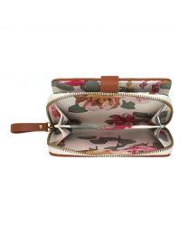 Chiswick Rose Zip Wallet