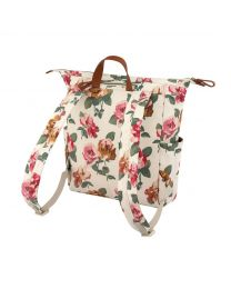 Chiswick Rose Matt Canvas Backpack