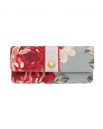New Rose Bloom Slim Wallet