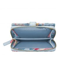 Pembroke Rose Folded Zip Wallet
