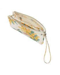 Mimosa Flower Multi Pocket Pouch