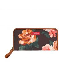 Chiswick Rose Continental Zip Wallet