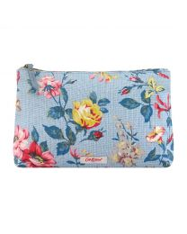 Pembroke Rose Matt Zip Cosmetic Bag