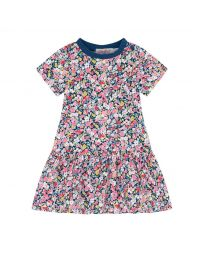 Paper Ditsy Baby Jersey Dress