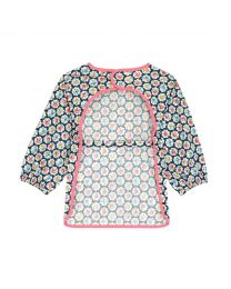 Provence Rose Kids Long Sleeve Apron