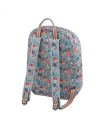 Mini Mushrooms Foldaway Backpack