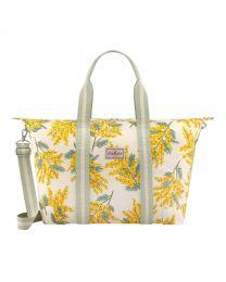 Mimosa Flower Foldaway Overnight Bag